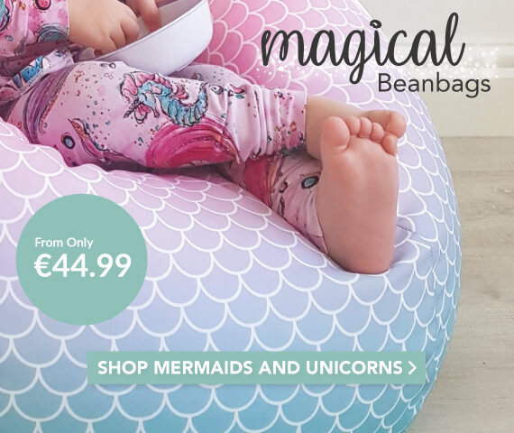 Mermaid and Unicorn Bean Bags